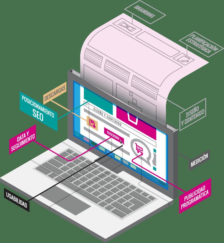 infografia desarrollo web