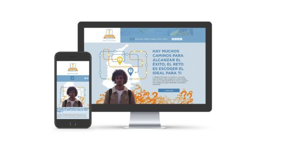 Mapping Education sitio web
