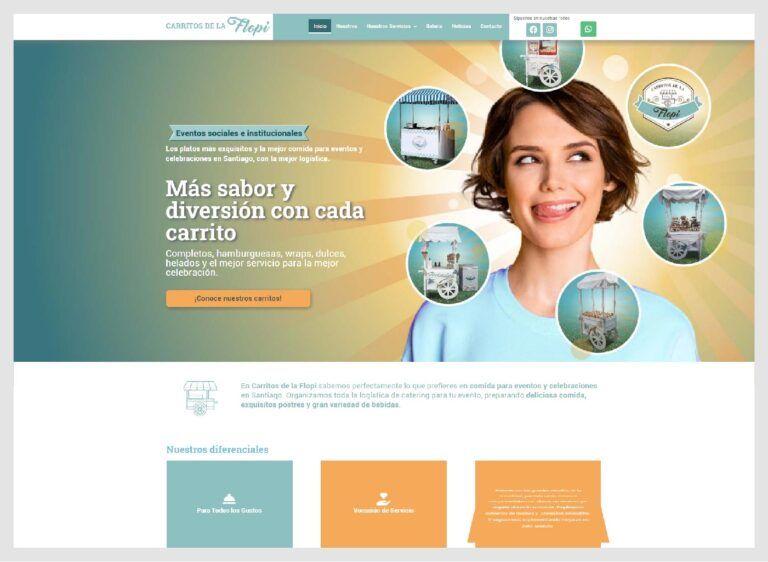 web servicio de comida