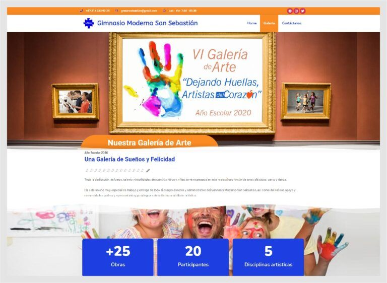 sitio web escuela infantil