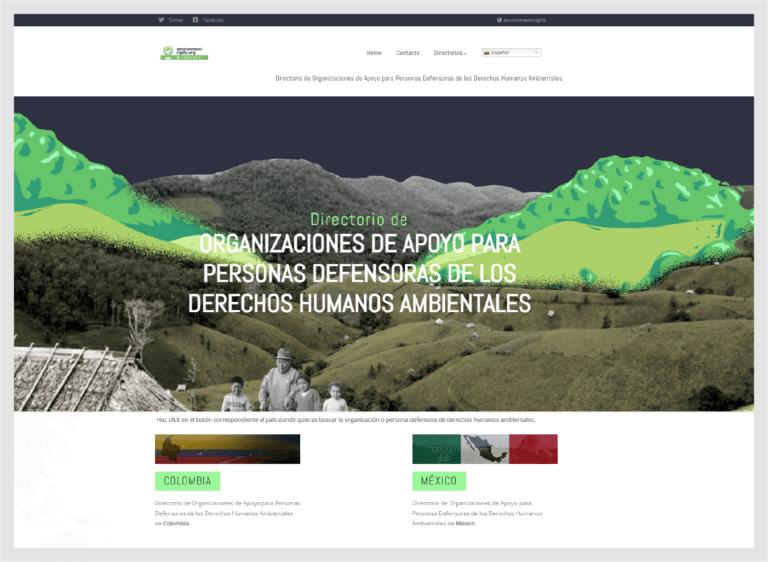 sitio web organizacion ambiental