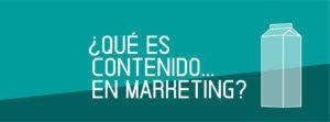 que es contenido en marketing